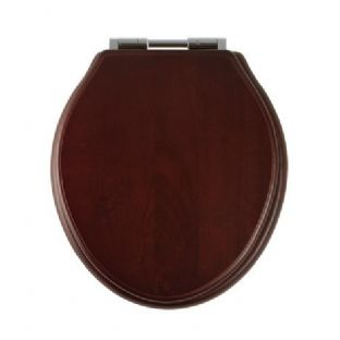 Roper Rhodes - Greenwich Soft Close Toilet Seat (Mahogany) - 8099MSC